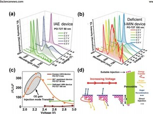 Auger Effect Assisted Perovskite Electroluminescence Modulated by Interfacial Minority Carriers 《Advanced Functional Materials》